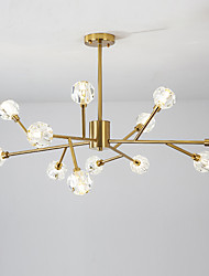 cheap -12 Bulbs EMPEROR LANG 100 cm New Design Chandelier Metal Sputnik Electroplated Modern / Nordic Style 110-120V / 220-240V