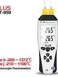 cheap -ET-959 Humidity Type K J Thermometer Handheld Portable Digital Non-contact With Thermocouple Proble Hygrometer Temperature Meter