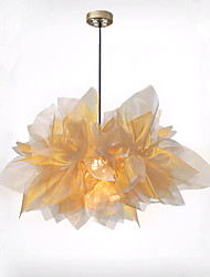 cheap -QIHengZhaoMing Pendant Light Metal Fabric 110-120V / 220-240V