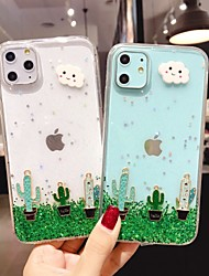 cheap -Case For Apple iPhone 11 / iPhone 11 Pro / iPhone 11 Pro Max Shockproof Back Cover Scenery Silica Gel