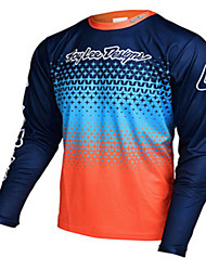 cheap -Speed down cycling Top Men's summer cycling long sleeve T-shirt cross-country motorcycle suit Motorcycle Jersy motorcycle cross-country shirt