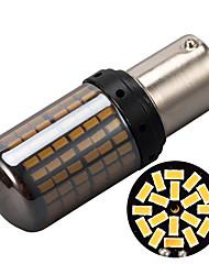 Недорогие -2 шт. Сигнал поворота автомобиля фары стоп-сигнал 144 smd 3014 светодиодный светильник шарик ошибки без гипер гипер вспышки 1156 ba15s p21w 7440