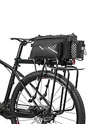 cheap -ROCKBROS 12 L Bike Rack Bag Multifunctional Portable Cycling Bike Bag Terylene Bicycle Bag Cycle Bag Outdoor Exercise