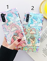 cheap -Case For Samsung Galaxy S9 / S9 Plus / S8 Plus Pattern Back Cover Cartoon Plastic