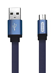 cheap -Micro USB Cable 1.5m(5Ft) Quick Charge Aluminum / Nylon USB Cable Adapter For Samsung / Huawei / Nokia