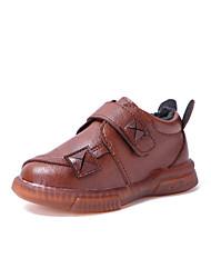 halpa -Poikien Comfort PU Bootsit Pikkulapset (4-7 vuotta) / Suuret lapset (7 vuotta +) Musta / Ruskea Talvi / Nilkkurit