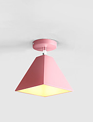 cheap -1-Light Nordic Wind Modern Macaron Ceiling Lamp Corridor Lamp Personality Warm Cloakroom Porch Lamp Corridor Lamp Balcony Lamp