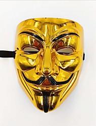 cheap -Halloween Mask Horror Plastic V for Vendetta Adults' Toy Gift