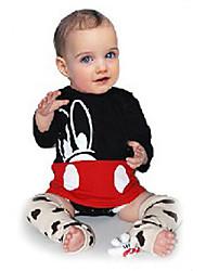 cheap -Baby Girls' Active / Basic Print Print Long Sleeve Bodysuit Black