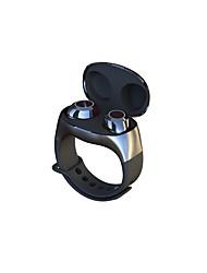 cheap -HM50 TWS Bluetooth 5.0 Wireless Portable Touch Control Earphone Wrist Ears Ear Entry Sports Type Charging Box Bracelet headset