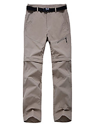 cheap -Women's Hiking Pants Convertible Pants / Zip Off Pants Outdoor Portable Breathable Quick Dry Soft Pants / Trousers Hiking Camping Sky Blue Fuchsia Army Green S M L XL XXL