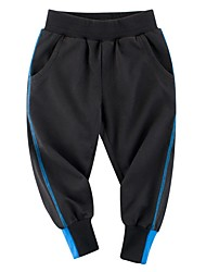 cheap -Kids Boys' Color Block Pants Black