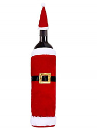 cheap -Christmas Red Wine Bottle Cover Bag