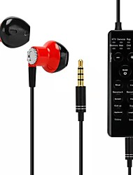 cheap -Voice Changer Headsets Earbud Headphones for Douyin Living/Karaoke/Kids/Phone/IPad/Computer/Anchor/Cam Girl