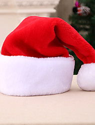 cheap -Santa Claus Hat Family Look Kid's Costume Party Christmas Christmas Velvet Hat