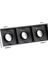 cheap -PUSHENG 3-Light 10.8 cm Flush Mount Spot Light Aluminum Geometrical Modern 110-120V / 220-240V