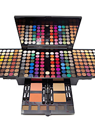 cheap -180 Colors Eyeshadow Palette Eyeshadow Kit Contour Makeup Kit Matte Shiny Blush Highlighter Bronzer All-In-1 Professional Fashion Waterproof Long Lasting Daily Makeup Cosmetic Gift