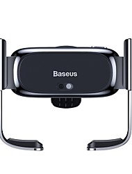 cheap -Baseus Mini Electric Car Holder Black/Silver