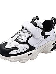 cheap -Boys' / Girls' Comfort PU Athletic Shoes Little Kids(4-7ys) / Big Kids(7years +) Running Shoes / Walking Shoes Black / Blue / Gray Fall / Winter
