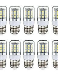 cheap -YWXLight E27 3W 27 SMD 5050 LED Pure House Corn Bulb AC 220-240V  10pcs