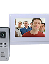 cheap -MOUNTAINONE SY819M11 Wired & Wireless Built in out Speaker 7 inch Hands-free One to One video doorphone