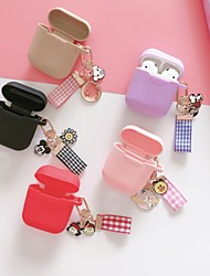 cheap -AirPods Case Silicone Soft  Lovely Pattern  Portable Hanging ornament For AirPods1 &amp AirPods2 (AirPods Charging Case Not Included)
