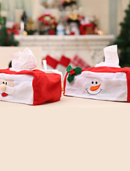 cheap -Christmas Tissue Box Decoration Set For Christmas Occasion Decoration