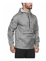 cheap -Men's Sports Basic Tunic - Letter Print Black