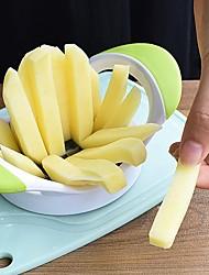 abordables -1pcs en acier inoxydable coupeur de pommes de terre coupé en lanières de pommes de terre chips multifonction fruits coupe maison cuisine cuisine outils