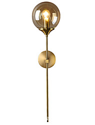 cheap -Modern Nordic Style Wall Lamps & Sconces Living Room Bedroom Metal Wall Light 110-120V 220-240V 40 W