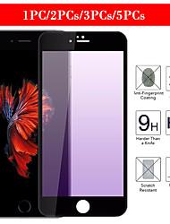 cheap -1PC/2PCs/3PCs/5PCs Polished silk screen printing purple light eye protector hd iphone 8/7/8p/7p/ 66s /6p 6Sp tempered film