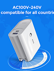 cheap -5000 mAh For Power Bank External Battery 5-2 V For 5 A For Battery Charger with Adapter LED