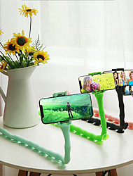 cheap -Creative Caterpillar Octopus Lazy Mobile Phone Bracket Meng Bedside Desktop Multi-function Live Self-timer Universal Clip Tripod Universal Catch TV Universal Support Shelf Bed Driving