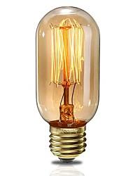 cheap -1pc 40 W E26 / E27 T45 Warm White 2200 k Incandescent Vintage Edison Light Bulb 220-240 V