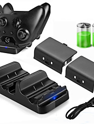 cheap -DOBE Charger Kits / Batteries For Xbox One  New Design Charger Kits / Batteries PPABS / Metal 1 pcs unit
