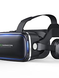 cheap -Shinecon 60 Casque VR gafas de realidad Virtual 3 D 3D gafas casco de auriculares para iPhone Android Smartphone Smart Phone ESTREO