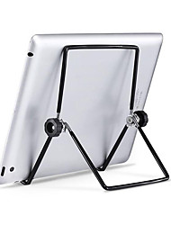 cheap -Foldable Metal Tablet Stand Adjustable Big Phone Tablet Desktop Holder Mount Cooling Fast Universal for iPad iPhone