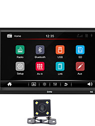 cheap -SWM N6 7 inch 2 DIN Windows CE Car MP5 Player / Car MP4 Player / Car MP3 Player Touch Screen / Built-in Bluetooth / SD / USB Support for universal RCA / HDMI / VGA Support MPEG / MPG / WMV MP3 / WMA