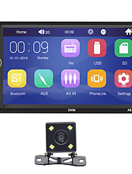 abordables -swm a6 + 4led camera 7 pouces 2 din windows ce voiture mp5 lecteur voiture lecteur multimédia écran tactile / bluetooth intégré / sd / support usb support rca / hdmi / vga mpeg / mpg / wmv mp3 / wma