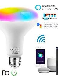 cheap -LED Intelligent WiFi Bulb Br30 Colorful Dimming App Remote Control Bulb Alexa Voice Bulb