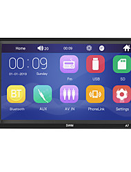 cheap -SWM A7 7 inch 2 DIN Windows CE Car MP5 Player / Car MP4 Player / Car MP3 Player Touch Screen / Built-in Bluetooth / SD / USB Support for universal RCA / HDMI / VGA Support MPEG / MPG / WMV MP3 / WMA