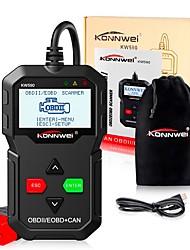 abordables -konnwei kw590 2019 scanner de voiture scanner scanner scanner obd 2 auto outil de diagnostic meilleur elm327 odb2 scanner automatique lecteur de code de panne de moteur de voiture
