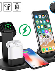 cheap -Smartwatch Charger / Dock Charger / Wireless Charger USB Charger USB Multi-Output / Wireless Charger 1.5 A DC 9V / DC 5V for Apple Watch Series 4/3/2/1 iPhone 8 / S9 / S9 Plus