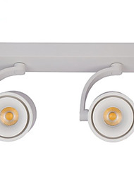 cheap -Led Open Mounted Down Light Cob Double Head Open Mounted Down Light 12W Shop Exhibition Hall No Hole Suction Ceiling Shot Light