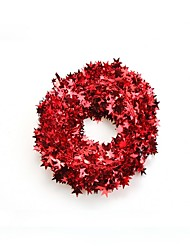 cheap -Holiday Decorations Christmas Decorations Christmas Ornaments Decorative Silver / Red / Blue 1pc