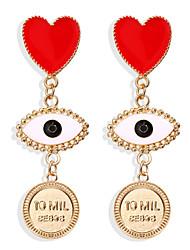 cheap -Women's Drop Earrings Earrings Classic Precious Simple Fashion Modern Imitation Pearl Earrings Jewelry Fuchsia For Christmas Halloween Gift Carnival Festival 1 Pair