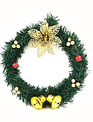 cheap -Holiday Decorations Christmas Decorations Christmas Ornaments Decorative Gold / Silver / Red 1pc