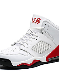 cheap -Men's Comfort Shoes PU Fall & Winter Sporty Athletic Shoes Basketball Shoes Non-slipping Black / White / Red