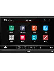 cheap -SWM N6 7 inch 1 DIN Windows CE Car MP5 Player / Car MP4 Player / Car MP3 Player Touch Screen / Built-in Bluetooth / SD / USB Support for universal RCA / HDMI / VGA Support MPEG / MPG / WMV MP3 / WMA