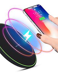 Недорогие -ультратонкий ци беспроводное быстрое зарядное устройство мобильный телефон беспроводная быстрая зарядка коврик для iphone sansung